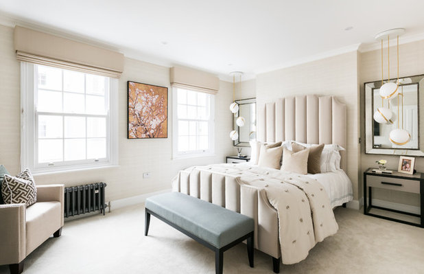 Transitional Bedroom by Orchestrate