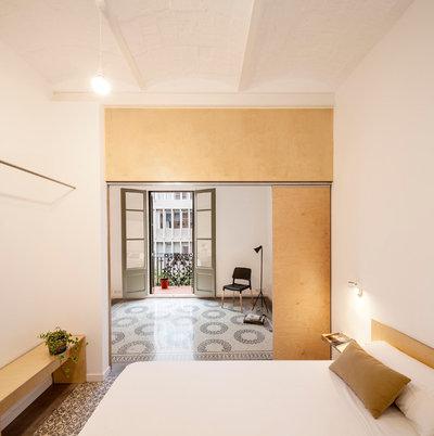 Skandinavisch Schlafzimmer by Adrian Elizalde Arquitectura