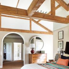 Farmhouse Bedroom by VSP Interiors