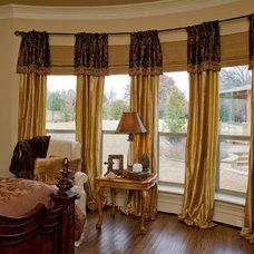 Traditional Bedroom by Jolie Vue Interiors
