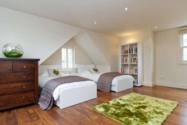 Contemporary Bedroom by A1 Lofts as well as Extensions