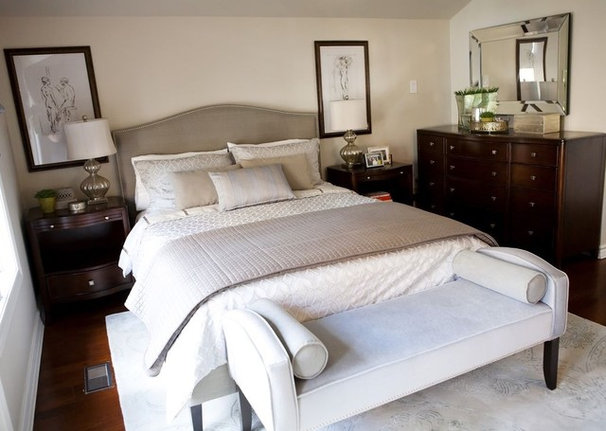 Contemporary Bedroom by Pure Bliss Creative Design