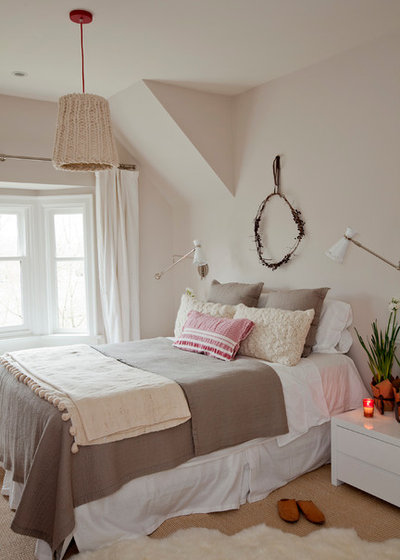 Shabby-chic Style Bedroom by Sophie Burke Design