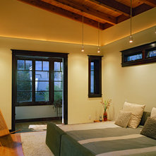 contemporary bedroom by rossington architecture ambient lighting ideas