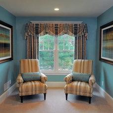Eclectic Bedroom by Joyce's Interiors