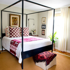 Eclectic Bedroom by Lesley Glotzl