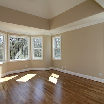 Downstairs Master Bedroom with Sitting Area