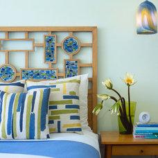 Midcentury Bedroom by Amy Lau Design