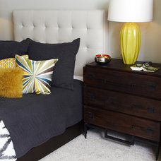 Contemporary Bedroom by Kim Armstrong