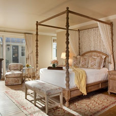Farmhouse Bedroom by Andrea Bartholick Pace Interior Design