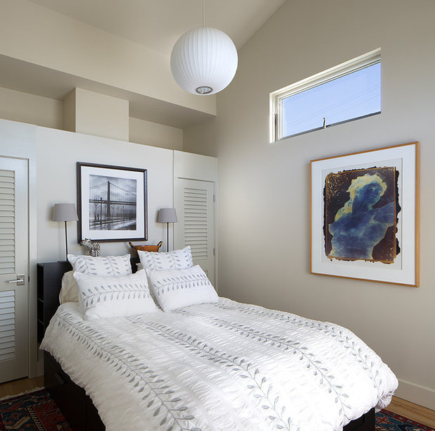 Transitional Bedroom by Amy A. Alper, Architect