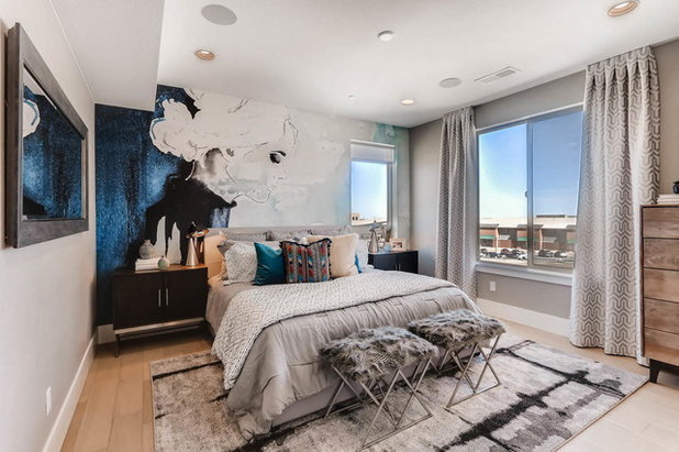 Contemporain Chambre By Wonderland Homes