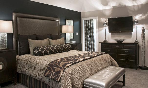 Transitional Bedroom by Luv2Dezin LLC - Deziner Tonie - Decorating Den