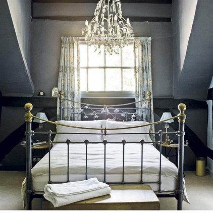 Eclectic Bedroom dramatic bedroom