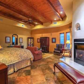 Dramatic Southwestern Style Home