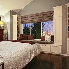 Contemporary Bedroom by Pilar Calleja - Draw The Line Design