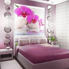 Contemporary Bedroom by S&A Decor