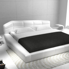 Contemporary Platform Beds by EuroLux Furniture
