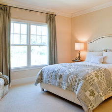 Transitional Bedroom by Dream House Studios