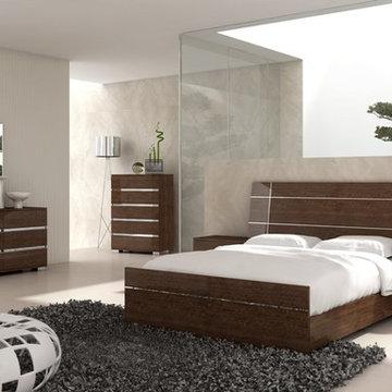 Dream Modern Bedroom Set in Walnut - $2707.10