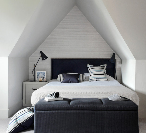 Contemporary Bedroom by th2designs.co.uk