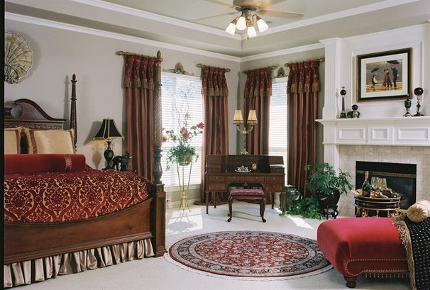 Traditional Bedroom by Decorating Den - The Cecil Design Team