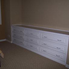 Traditional Bedroom by CustomBuilt-ins.com / CFM Company Inc.