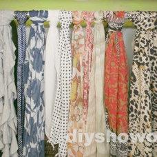 Traditional Bedroom Dressing Room {guest bedroom 2}/Closet Organization