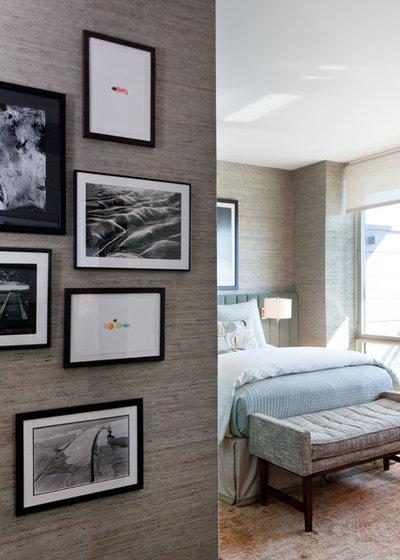 Contemporary Bedroom by Drew McGukin Interiors @drewmcgukin