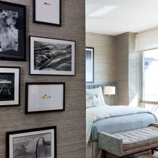 Contemporary Bedroom by Drew McGukin Interiors