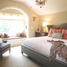 Traditional Bedroom by Martha O'Hara Interiors