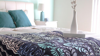 Drift Fabric Collection Bedroom