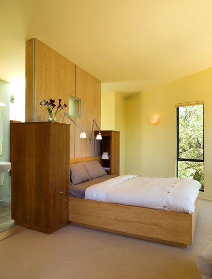 modern bedroom by House + House Architects