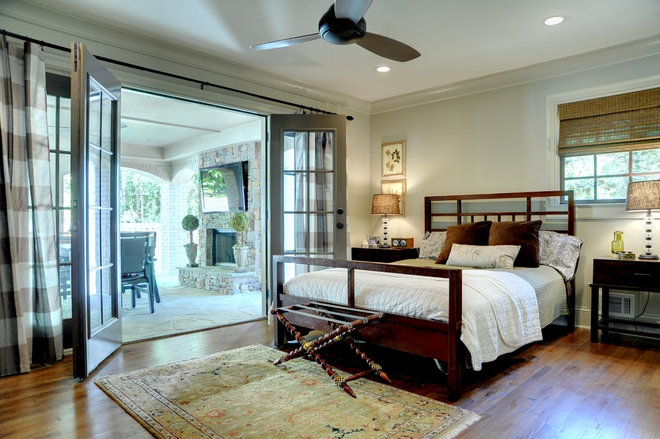Traditional Bedroom by Linda MacArthur, Architect