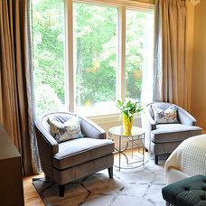 Contemporary Bedroom by evaru design