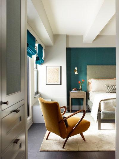 Транзисьон Спальня by Damon Liss Design