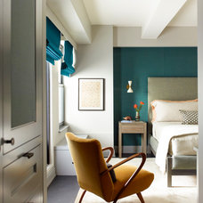 Transitional Bedroom by Damon Liss Design
