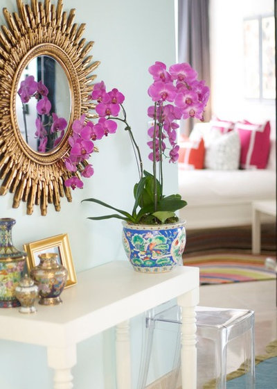 Lovely Eclectic Bedroom by Caitlin Wilson Design