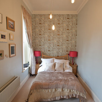 Duck Egg and Pink Bedroom