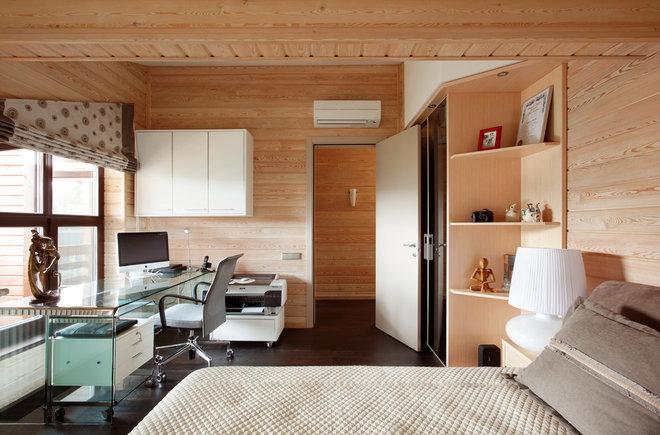 Современный Спальня by Architectural Bureau Sretenka