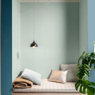 Bild på ett funkis sovrum
