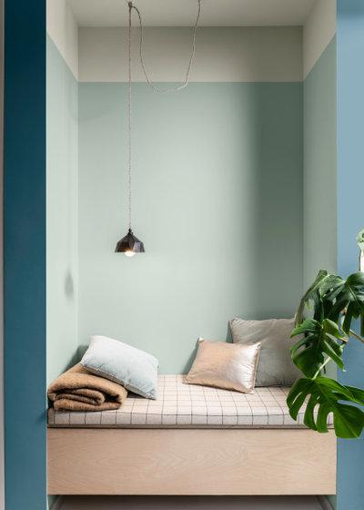 Minimalistisch Schlafzimmer by Dulux