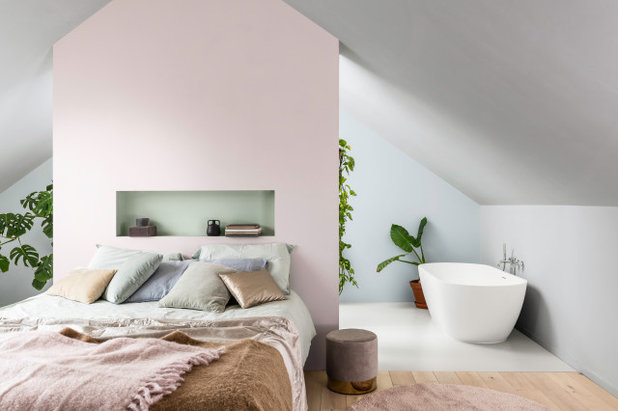 Moderne Chambre by Dulux