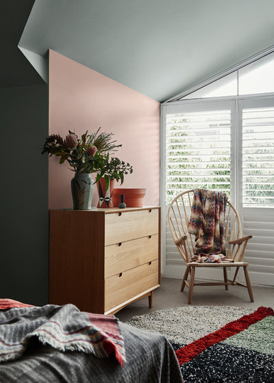 Contemporary Bedroom by Dulux New Zealand