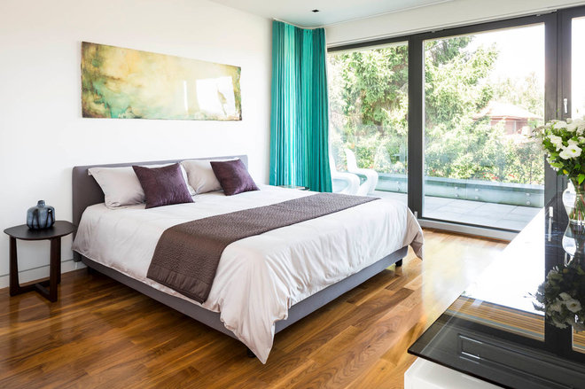 Contemporary Bedroom by Natural Balance Home Builders