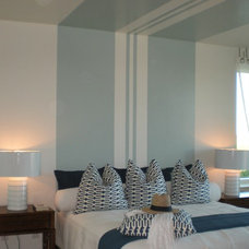 Beach Style Bedroom by SUSAN PETRIL, INTERIOR DESIGNS