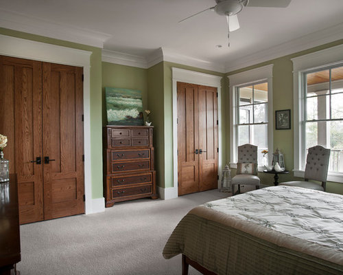 White Trim Wood Door Houzz