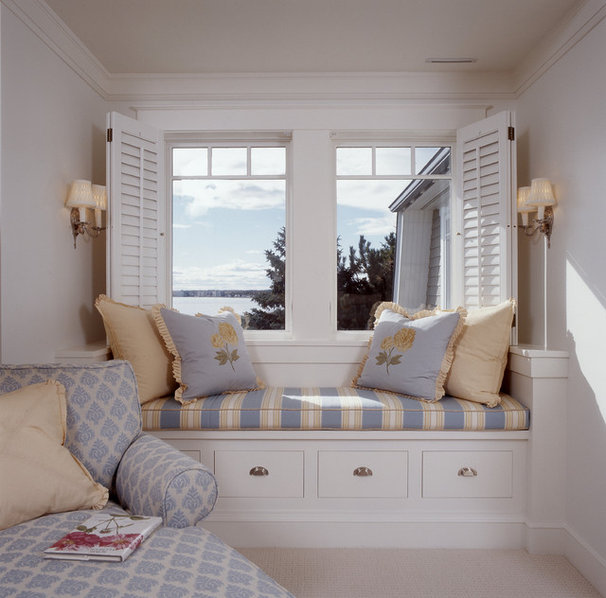 Beach Style Bedroom by Sylco Cabinetry