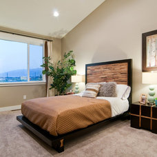 Contemporary Bedroom by Candlelight Homes