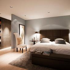 Modern Bedroom by LEICHT New York / LEICHT Westchester